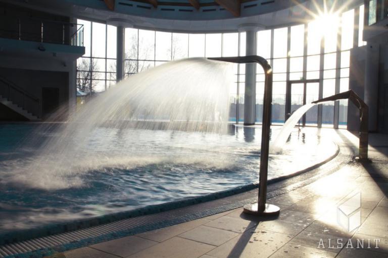 Vybavení šatny bazénu