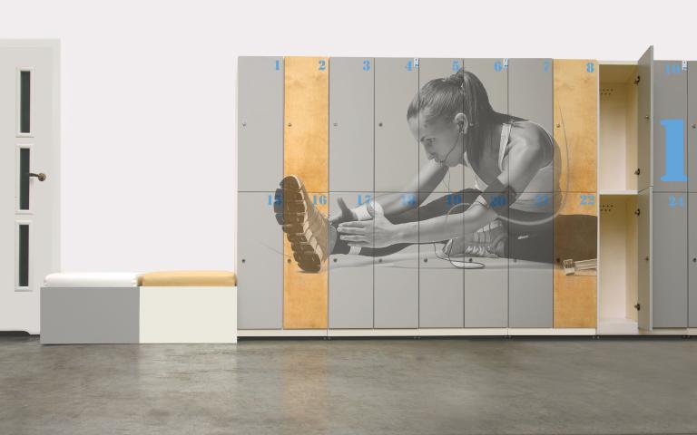 skříňky pro šatny fitness MUSCA